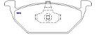 Pastilha De Freio Audi A3 / Fox - Imagem 2