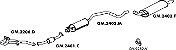 Silencioso Astra Station Wagon 2.0 95 Até 97 Importado Traseiro - Imagem 2