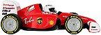 Carrinho Ferrari com Controle Remoto - Vermelho - Chicco - Imagem 3