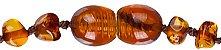 Pulseira de Âmbar Baroque Cognac 14cm - Bugababy - Imagem 4