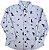 Camisa Infantil Masculina - Azul - Puc - Imagem 1
