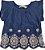Blusa Infantil Feminina - Azul - Malwee - Imagem 1