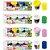 Massinhas De Modelar Batiki - Glitter/Neon/Tons Pastéis Modele  e Crie  - Imagem 1