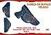Coldre Velado P Pistola - Glock G25 - G28 e Taurus 838 - 938 - Ts9 - Th380 - Th40 - Corrugado Cabeça de Bufalo - Imagem 1