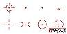 Red Dot Vector Optics 556 T4 Ctt40 12ga 7.62 Omega 8 Reflex - Imagem 5