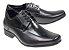 Sapato Social Jotape Air Bag 6,5 cm Couro 78400 Cadarço Cód 147 - Imagem 1