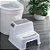 Banquinho  de Banheiro 2 Degraus New Style Kababy - Imagem 3