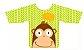Babador com Manga Macaco - MultiKids - Imagem 1