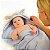 Toalha Mamãe e Bebê Cachorro Azul Fibra Bambu-  Clevamama - Imagem 4