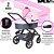 Carrinho de Bebê ABC Design - Salsa 3 Rose com Moises - Imagem 3
