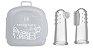 Kit 2 Dedeiras de Silicone Massageadora para Bebês - Marcus & Marcus - Imagem 1
