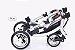 Carrinho de Bebê ABC Design - Zoom Style Street Gêmeos - Imagem 6