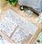 Envelope Organizador Piquê Branco  Escrito Baby - Imagem 1