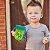 Copo Decorado Com Alça Para Bebê 360º (6m+) - 240ml - Azul e Verde Nuby  - Imagem 2