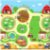 Tapete Baby Play 125 X125 Busy Farm - Imagem 1