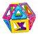 Formagnéticos Dican 14 peças - Imagem 1