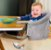 Cadeira de Alimentação de Encaixe em Mesa Click Cinza - Multikids - Imagem 3