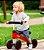 Bicicleta de Equiibrio 4 Rodas Vermelho - Buba - Imagem 2