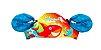 Boia Colete Infantil Salva Vidas Crianças Praia 2 In 1 Azul e Vermelho- Swim School - Imagem 4