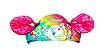 Boia Colete Infantil Salva Vidas Inflável Criança Rosa- Swim School - Imagem 3