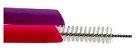 Kit 2 Canudos  Rosa e Roxo de Silicone com Limpador - KaBaby - Imagem 2