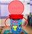 Copo Decorado Com Alça Para Bebê 360º (6m+) - 240ml - Azul e Vermelho Nuby - Imagem 2