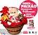 Cesta Paixão Ursinho + Chocolates + Balão - Imagem 1