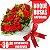 Buquê com 6 Rosas Naturais - Imagem 1
