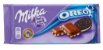 BARRA CHOCOLATE MILKA OREO 100G - Imagem 1