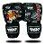 Luva de Boxe Infantil Super Fighter Preto com Branco (PAR) - Imagem 1