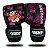 Luva de Boxe Infantil Super Fighter Preto com Rosa (PAR) - Imagem 1