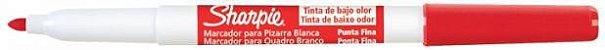 Pincel Apagável SHARPIE para Quadro Branco - Vermelho - Imagem 2