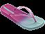 Chinelos Ipanema Azul/rosa - Imagem 1