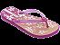 Chinelos Ipanema Rosa/rosa/laranja - Imagem 1