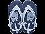 Chinelos Ipanema Azul/azul - Imagem 2