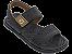 Sandálias Cartago Preto/preto/marrom - Imagem 1