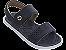 Sandálias Cartago Branco/azul/marrom - Imagem 1
