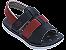 Sandálias Cartago Branco/azul/vermelho - Imagem 1