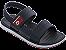 Sandálias Cartago Vermelho/azul/branco - Imagem 1