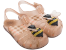 Sandálias Zaxy Bege Glitter - Imagem 2