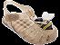 Sandálias Zaxy Bege Glitter - Imagem 1