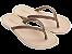 Chinelos Grendha Bege Melão - Imagem 1