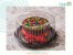 Porta Torta Hiperpack Fundo Preto - Imagem 1