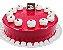 Torta Red Velvet - Imagem 1