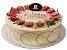 Torta Marfim de Morango 800g - Imagem 1