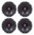 Kit 4 Alto Falante Jbl 6 200w Rms Voyage Pointer Polo Fox - Imagem 1