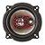 Alto Falante Triaxial Bravox 5 B3x50x 100w Rms Par Porta Som - Imagem 1