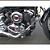 Protetor de motor slider dragstar 650 1998/2008 croma cobra - Imagem 2