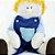 Boneco de pano para bebês - Chico - Imagem 3