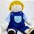 Boneco de pano para bebês - Chico - Imagem 1